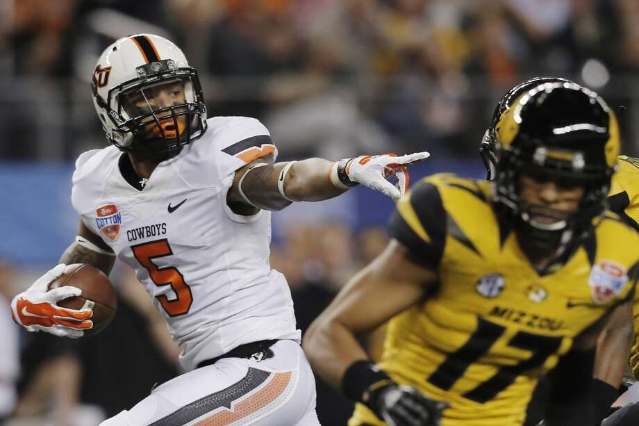 Josh Stewart  Position: Wide receiver  School: Oklahoma State Photo: Brandon Wade, Associated Press