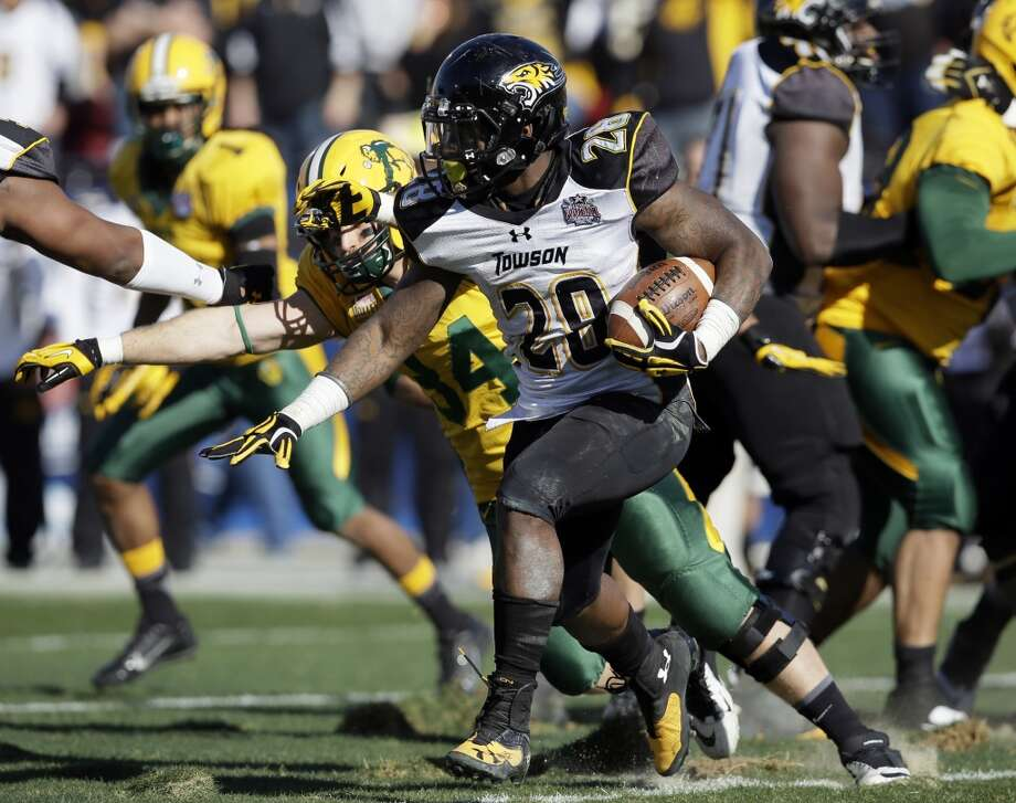 Terrance West  Position: Running back  School: Towson Photo: Tony Gutierrez, Associated Press