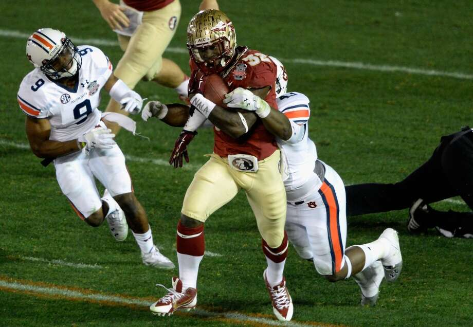 James Wilder Jr.  Position: Running back  School: Florida State Photo: Kevork Djansezian, Getty Images
