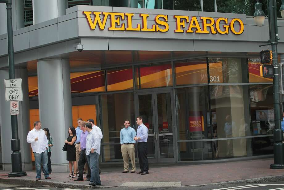 Wells Fargo ended a record-setting 2013 with its best fourth quarter ever. Photo: Scott Olson, Getty Images