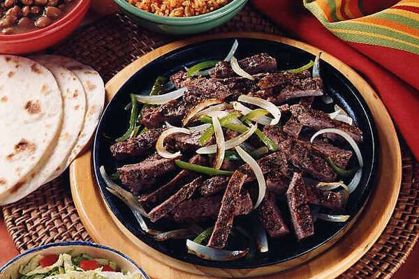 A beef fajitas plate, served up at Mama Margie's in Schertz.