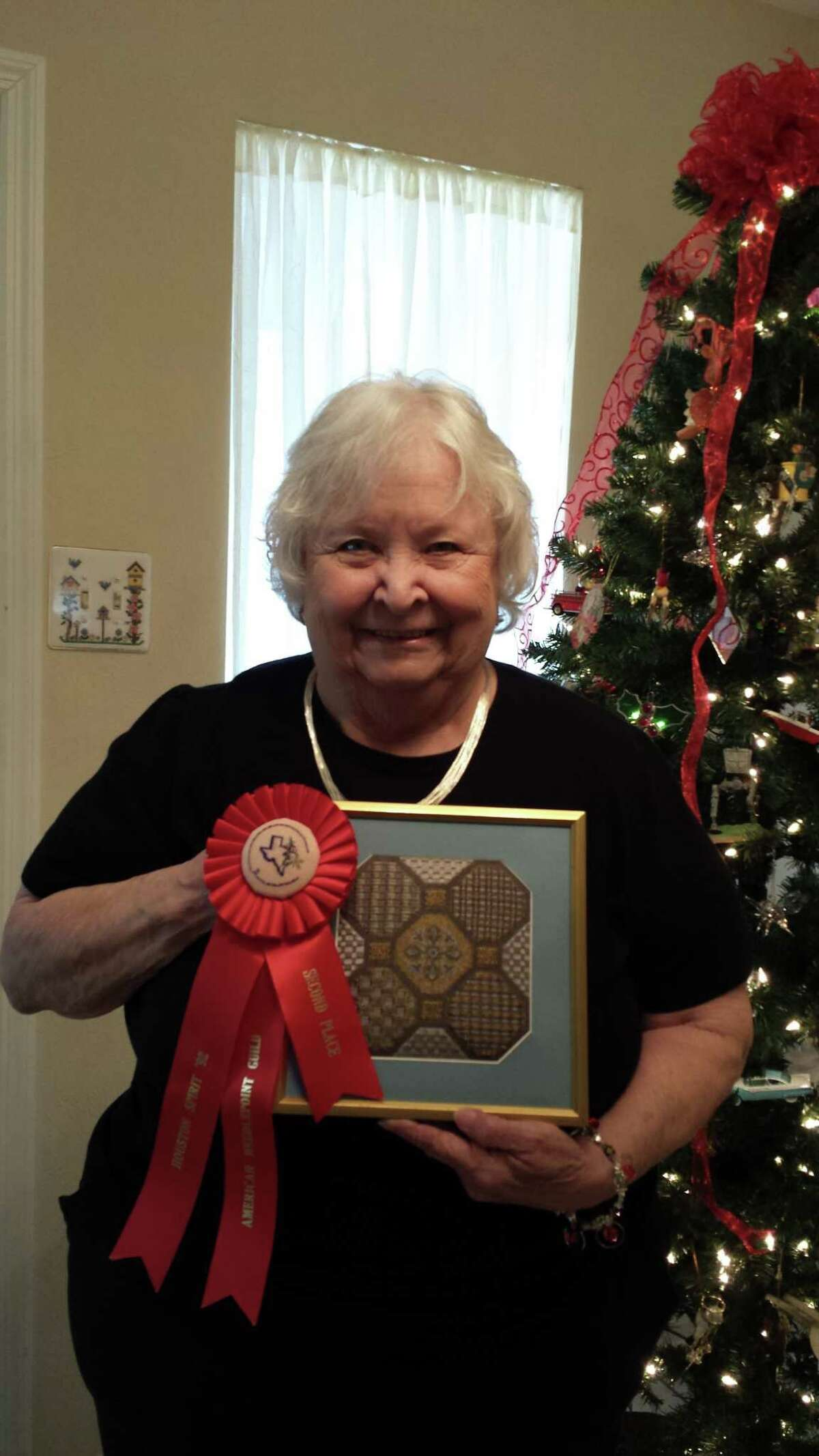 Barbara Beasley has been a member of the American Needlepoint Guild for more than 30 years.