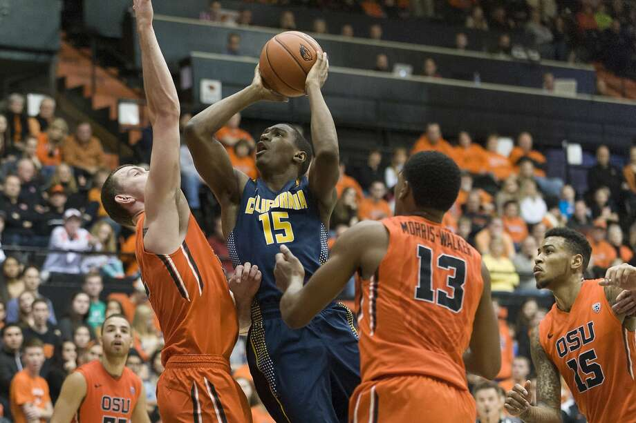 Cal's Jordan Mathews had only two points against Oregon State less than 48 hours after lighting up Oregon for 32. Photo: Karl Massdam, Associated Press
