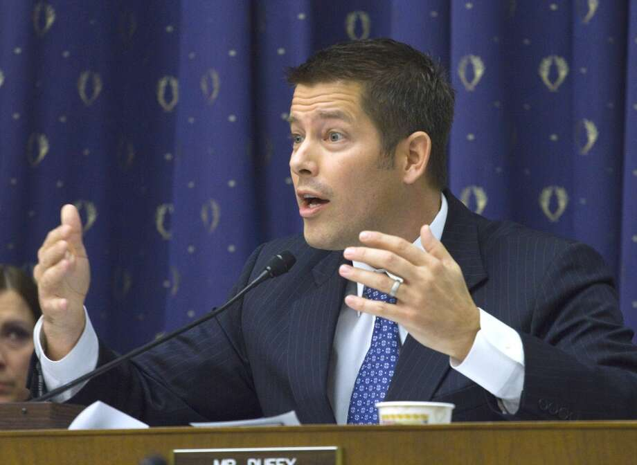 "Rep. Sean Duffy, R-Wis., @RepSeanDuffy - ""... was a ******bag on Real World MTV, he's a ******bag now."" Photo: Harry Hamburg, AP"