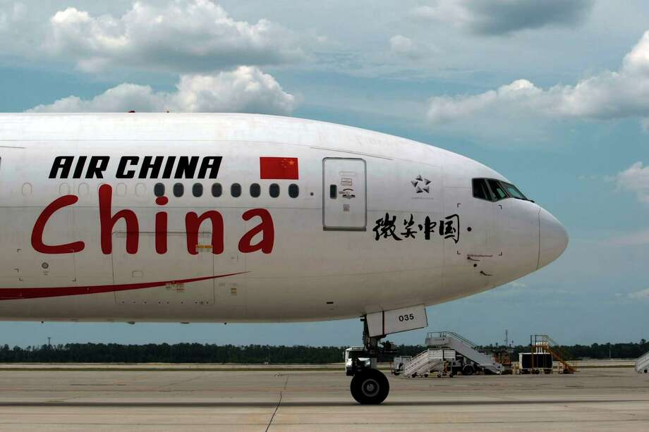 Air China was among the carriers that started service to Bush Intercontinental Airport last year. The airline flies nonstop from the airport to Beijing. The international terminal at the airport will be getting a big overhaul. Photo: Billy Smith II, Staff / © 2013 Houston Chronicle