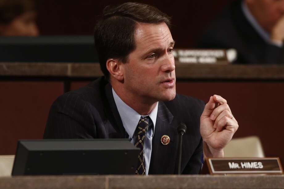 "Rep. Jim Himes, D-Conn., @jahimes - ""Hey Himes, I can't decide whether you are stupid or willfully deceitful ... can you help me out?"" Photo: Charles Dharapak, Associated Press"