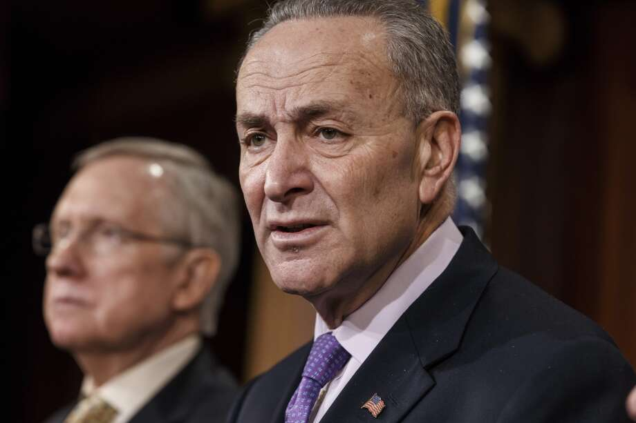 "Sen. Chuck Schumer, D-N.Y., @SenSchumer - ""Yup. You're about as original as an old pair of shoes."" Photo: J. Scott Applewhite, Associated Press"