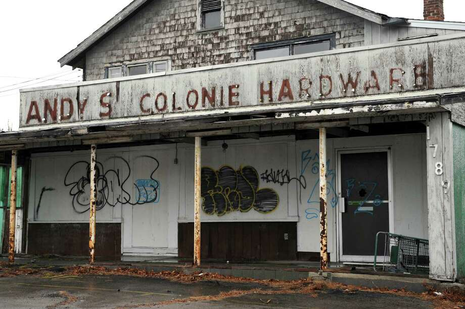 The former Andy's Colonie Hardware at 1789 Central Avenue on Tuesday Jan. 14, 2014 in Colonie, N.Y.  (Michael P. Farrell/Times Union) Photo: Michael P. Farrell / 00025360A