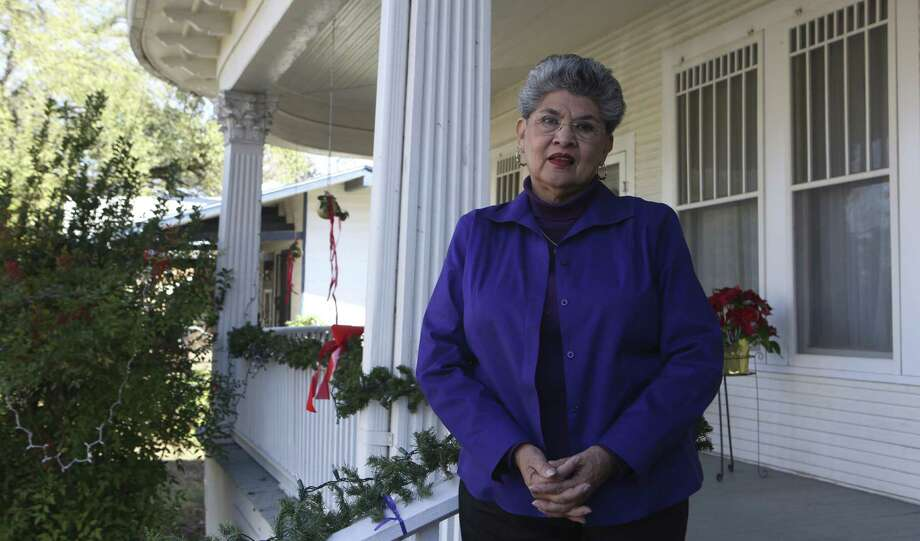 Former District 1 City Councilwoman Maria Berriozabal opposes the zoning change. She's concerned that it's representative of gentrification about to hit the area. Photo: Helen L. Montoya / San Antonio Express-News / ©2013 San Antonio Express-News