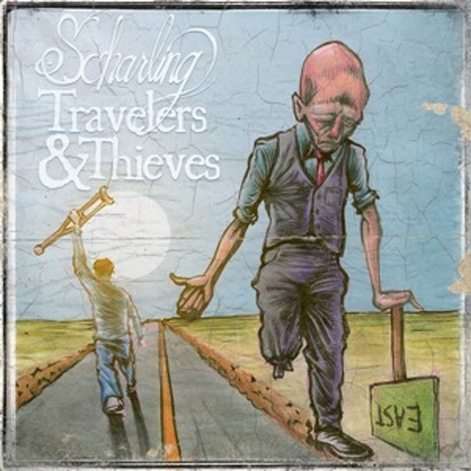 "Recorded in 29 days as part of the RPM Challenge, ""Travelers and Thieves"" is Scharling's latest album"