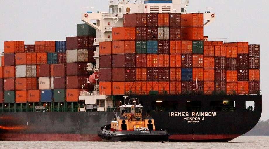Trade deficits? Fugetaboutit! Photo: David Grunfeld, Associated Press