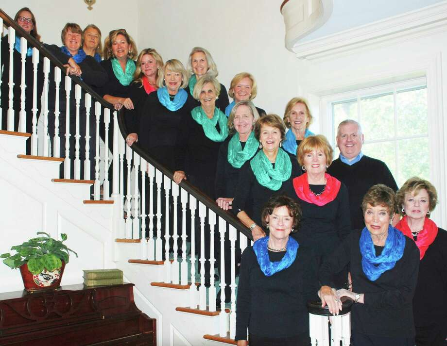 The Blue Notes, the volunteer singing group of the Darien Community Association, is conducting auditions and rehearsals for new members in January and February. Photo: Contributed Photo, Contributed / Darien News