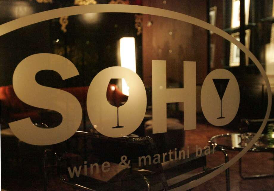 Soho Wine and Martini Bar, 214 W. Crockett St., will begin serving food in the coming weeks. Photo: Alicia Wagner Calzada, Special To The Express-News