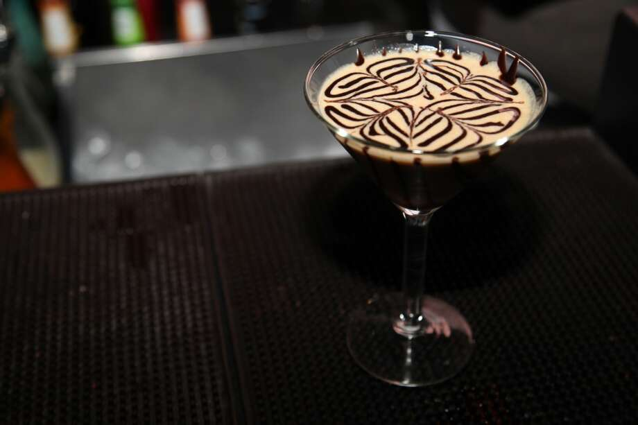 The Peanut Butter Delight martini at Soho Wine & Martini Bar. Photo: Xelina Flores-Chasnoff, Special To The Express-News