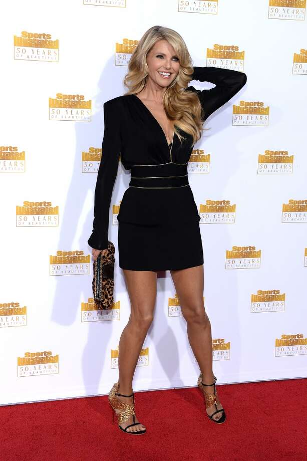 Model Christie Brinkley attends NBC and Time Inc. celebrate the 50th anniversary of the Sports Illustrated Swimsuit Issue at Dolby Theatre on January 14, 2014 in Hollywood, California. Photo: Dimitrios Kambouris, Getty Images