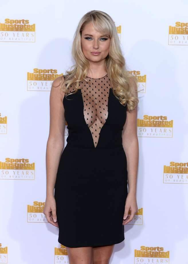 Model Genevieve Morton attends NBC and Time Inc. celebrate the 50th anniversary of the Sports Illustrated Swimsuit Issue at Dolby Theatre on January 14, 2014 in Hollywood, California. Photo: Dimitrios Kambouris, Getty Images
