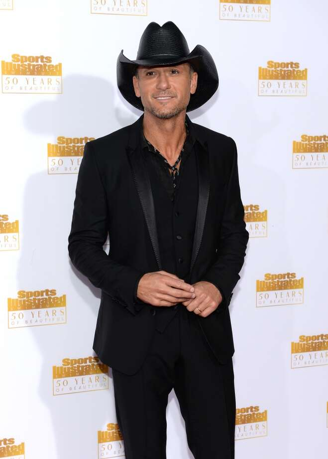 Musician Tim McGraw attends NBC and Time Inc. celebrate the 50th anniversary of the Sports Illustrated Swimsuit Issue at Dolby Theatre on January 14, 2014 in Hollywood, California. Photo: Dimitrios Kambouris, Getty Images