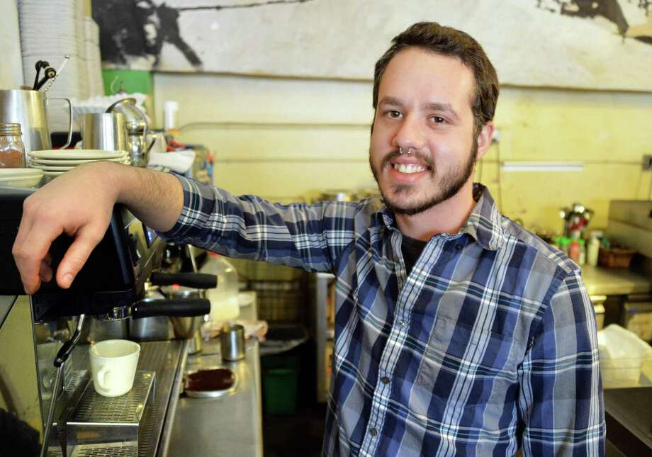Ron Grieco, general manager at Tierra Coffee Roasters on Madison Ave., Friday Jan. 10, 2014, in Albany, NY.  (John Carl D'Annibale / Times Union) Photo: John Carl D'Annibale / 00025306A