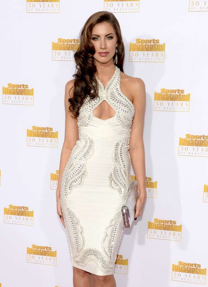 Model Katherine Webb attends NBC and Time Inc. celebrate the 50th anniversary of the Sports Illustrated Swimsuit Issue at Dolby Theatre on January 14, 2014 in Hollywood, California. Photo: Dimitrios Kambouris, Getty Images