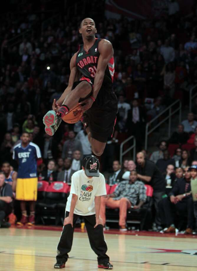2013: Terrence Ross  Location: Houston Team: Toronto Raptors Photo: James Nielsen, Houston Chronicle