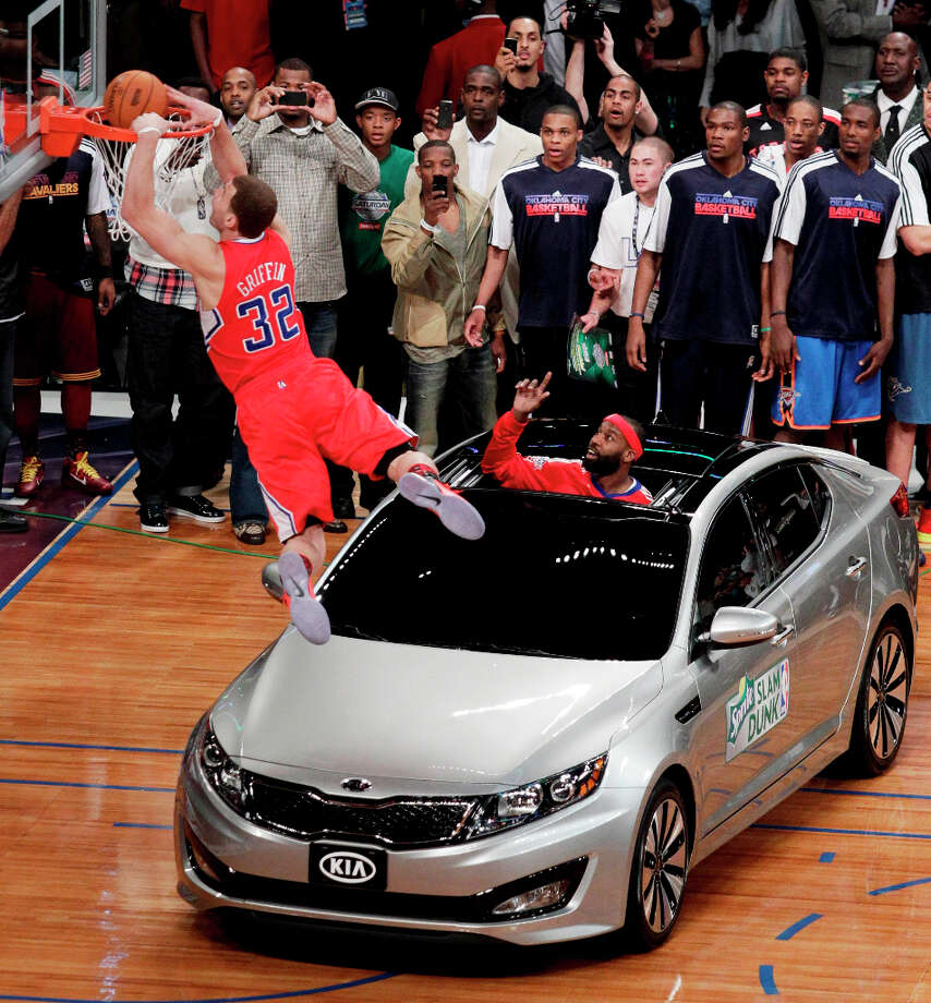 2011: Blake Griffin Location: Los Angeles Team: Los Angeles Clippers Photo: Jae C. Hong, Associated Press