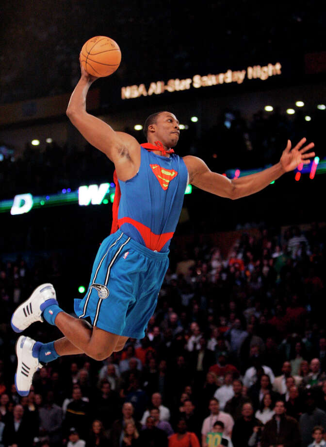 2008: Dwight Howard   Location: New Orleans Team: Orlando Magic Photo: Eric Gay, Associated Press