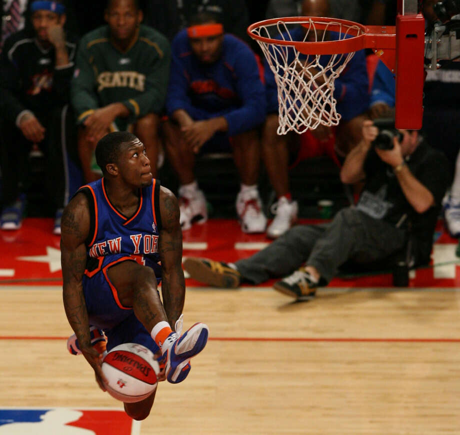 2006: Nate Robinson   Location: Houston Team: New York Knicks Photo: Billy Smith, Houston Chronicle