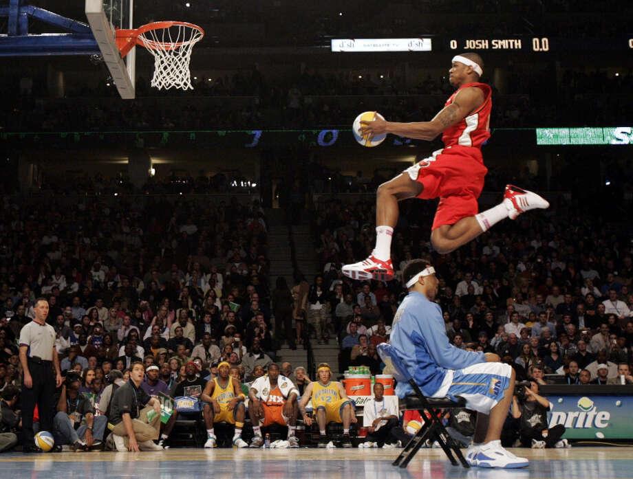 2005: Josh Smith Location: Denver Team: Atlanta Hawks Photo: John Greuss, Reuters