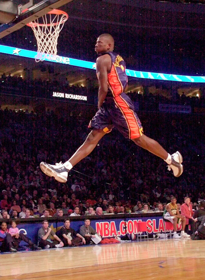 2002: Jason Richardson Location: Philadelphia Team: Golden State Warriors Photo: Chris Gardner, Associated Press