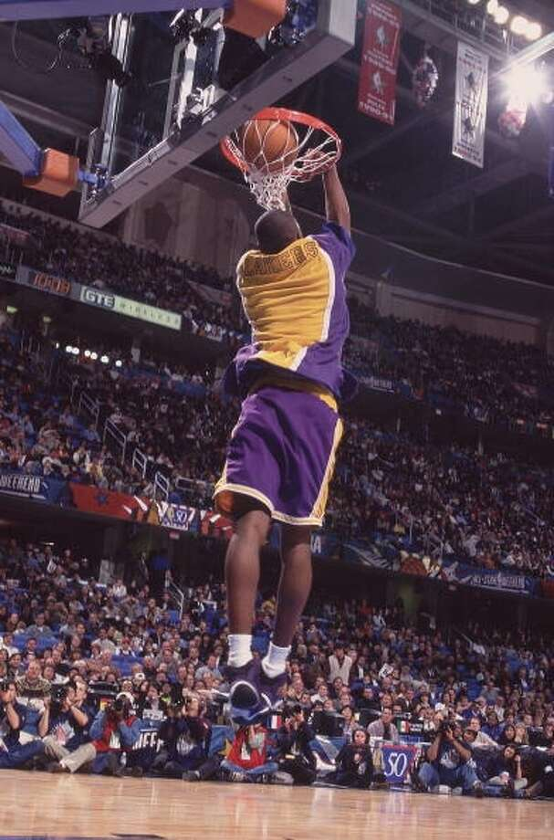 1997: Kobe Bryant   Location: Cleveland Team: Los Angeles Lakers Photo: David Liam Kyle, Ports Illustrated/Getty Images