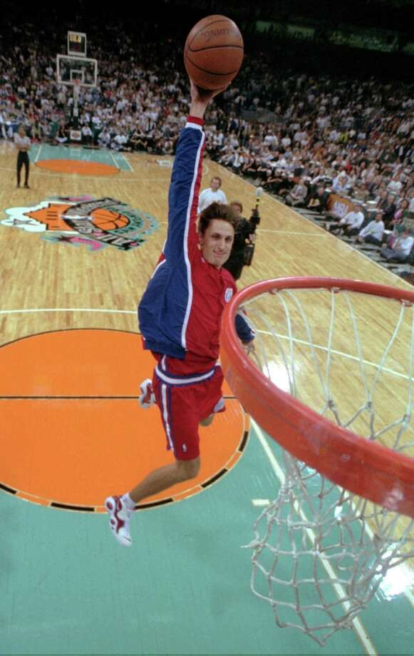 1996: Brent Barry Location: San Antonio Team: Los Angeles Clippers Photo: David J. Phillip, Associated Press
