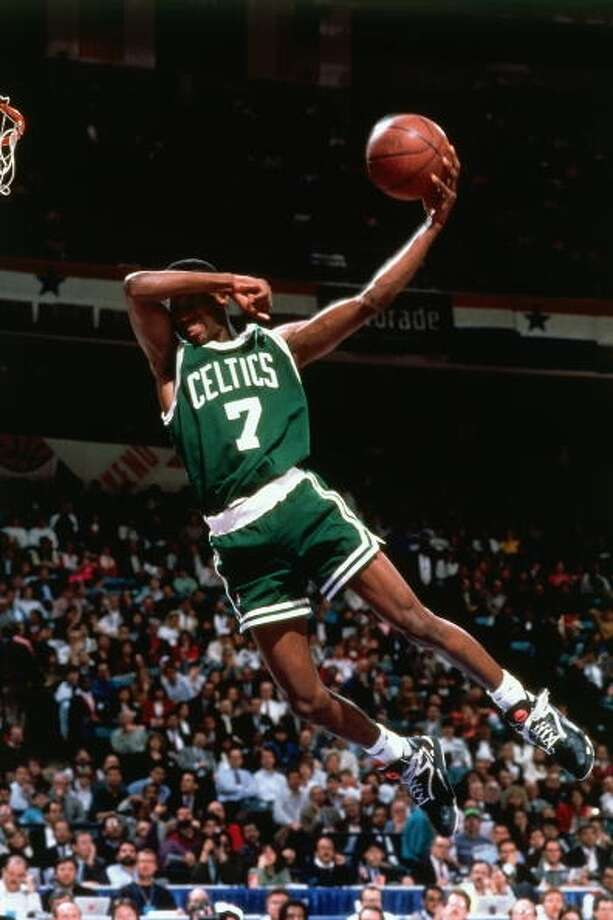 1991: Dee Brown Location: Charlotte Team: Boston Celtics Photo: Nathaniel S. Butler, NBAE/Getty Images