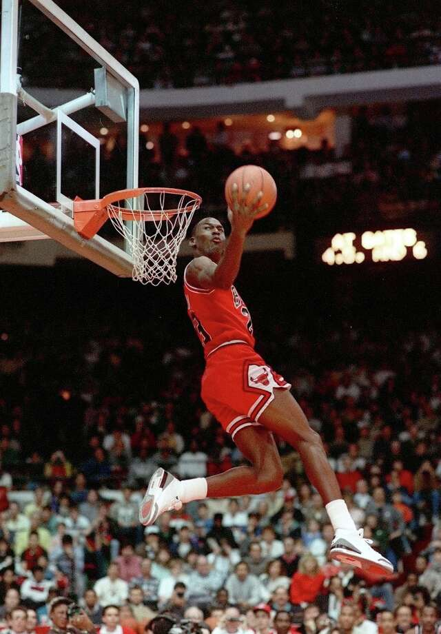 1988: Michael Jordan   Location: Chicago Team: Chicago Bulls Photo: John Swart, Associated Press