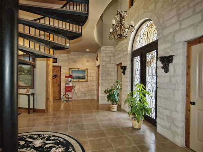 This Alamo replica home in Spicewood, north of Austin, is on the market listed at $1.35 million.