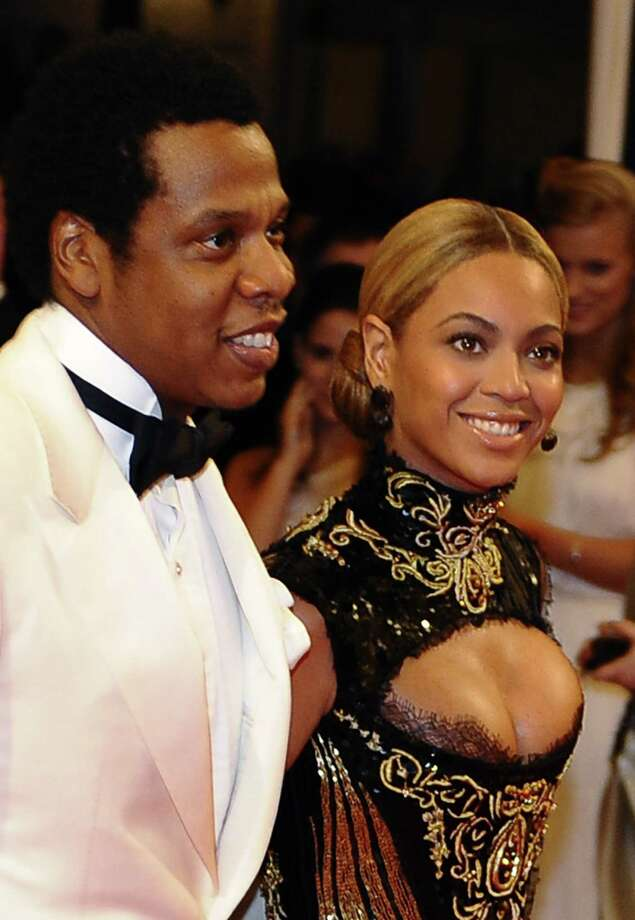 "Beyonce & Jay-Z: ""Crazy in Love"" by Beyonce ft. Jay-Z (it was the couple's first collaboration) Photo: AFP/Getty Images"