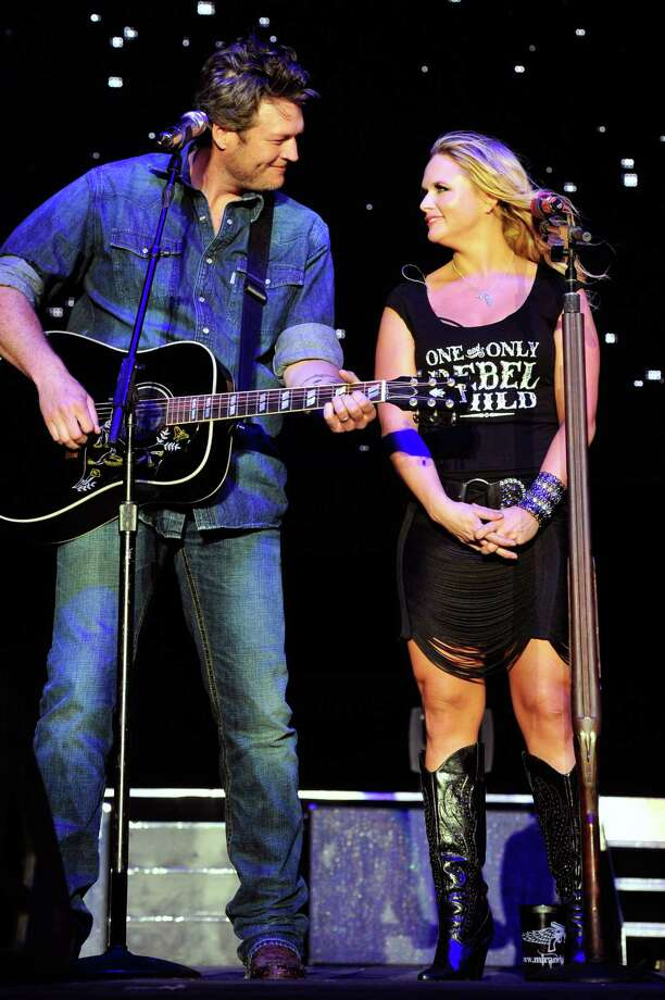 "Miranda Lambert & Blake Shelton: ""No Doubt About It"" by Neal McCoy Photo: Frazer Harrison, Getty Images For Stagecoach / 2012 Getty Images"