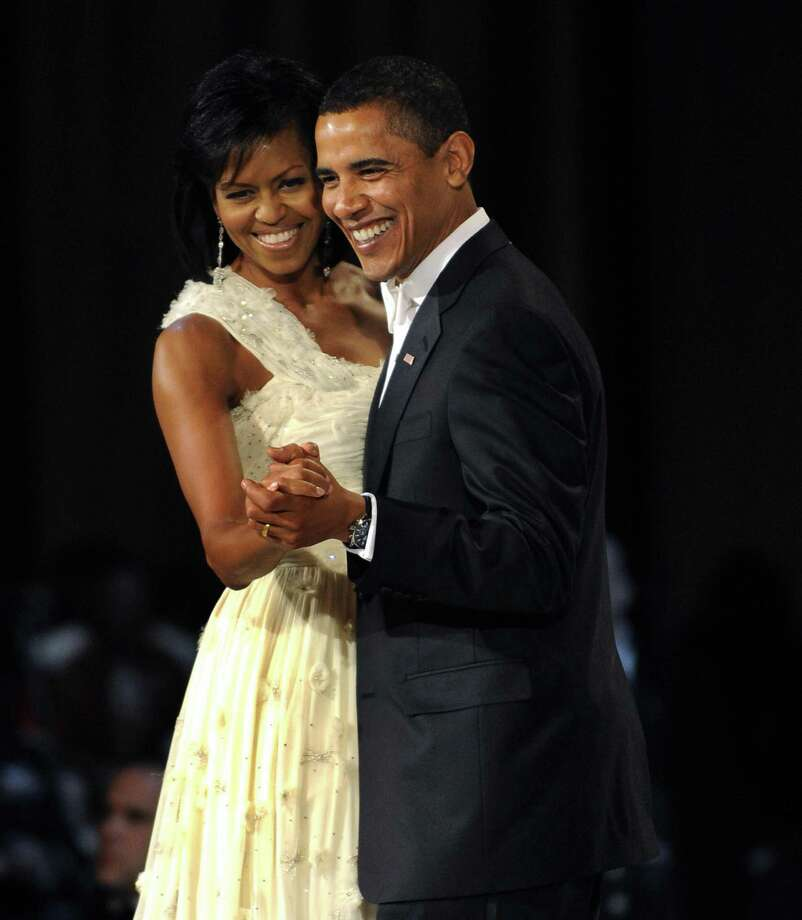 "Barack Obama & Michelle Obama: ""You and I"" by Stevie Wonder Photo: TIMOTHY A. CLARY, AFP/Getty Images / 2009 AFP"