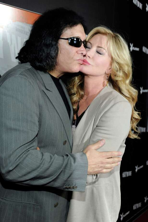"Gene Simmons & Shannon Tweed: ""At Last"" by Etta James Photo: Frazer Harrison, Getty Images For Relativity Medi / 2012 Getty Images"