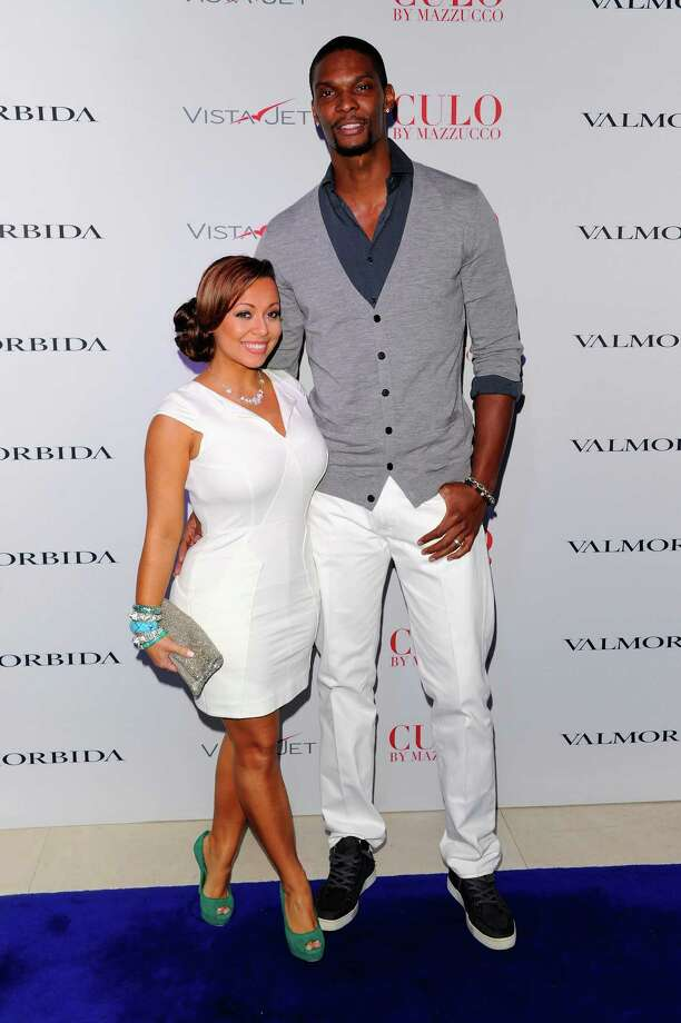 "Chris Bosh & Adrienne Williams: ""Wonderful Tonight"" by Eric Clapton Photo: Andrew H. Walker, Getty Images For Andy Valmorbida / 2011 Getty Images"