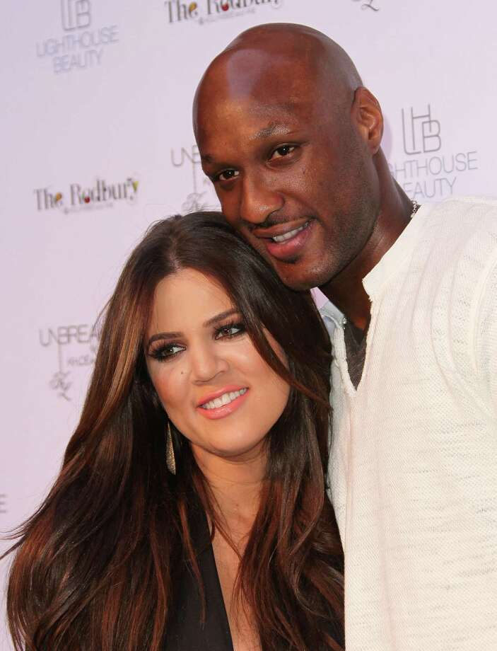 "Khloe Kardashian & Lamar Odom: ""Angel"" by Anita Baker Photo: Frederick M. Brown, Getty Images / 2011 Getty Images"