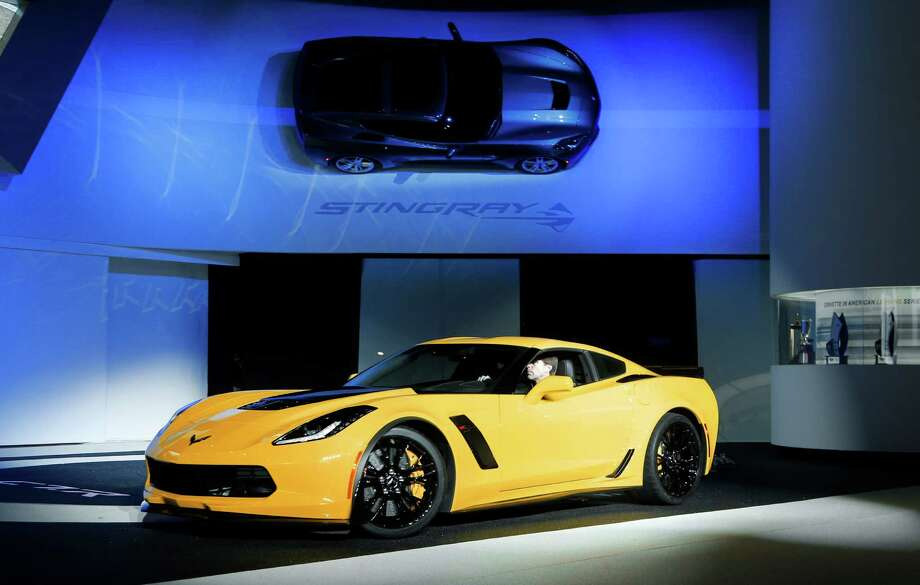 The 2015 Chevrolet Corvette Z06 is unveiled at media previews during the North American International Auto Show in Detroit, Monday, Jan. 13, 2014. Photo: Paul Sancya, AP / AP