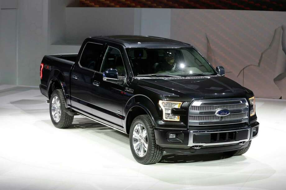 Ford unveils the new F-150 with a body built almost entirely out of aluminum. at the North American International Auto Show in Detroit, Monday, Jan. 13, 2014. Photo: Carlos Osorio, AP / AP