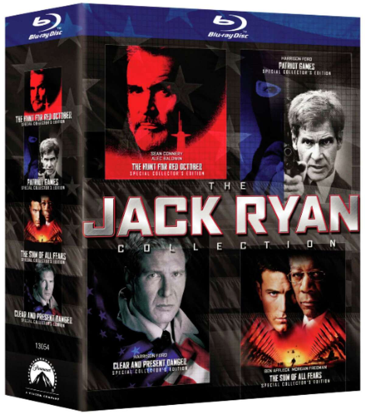 This photo provided by Paramount/Paramount Pictures shows the Blu-ray Jack Ryan Collection. (AP Photo/Paramount / Paramount Pictures) ORG XMIT: CAET568