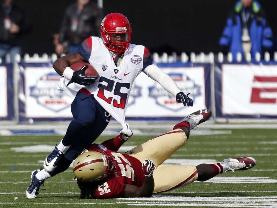 Ka'Deem Carey  Position: Running back  School: Arizona Photo: Rogelio V. Solis, Associated Press