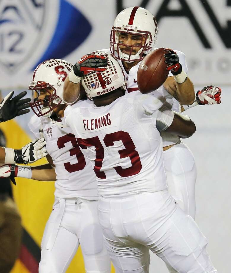 Cameron Fleming  Position: Offensive tackle  School: Stanford Photo: Matt York, Associated Press