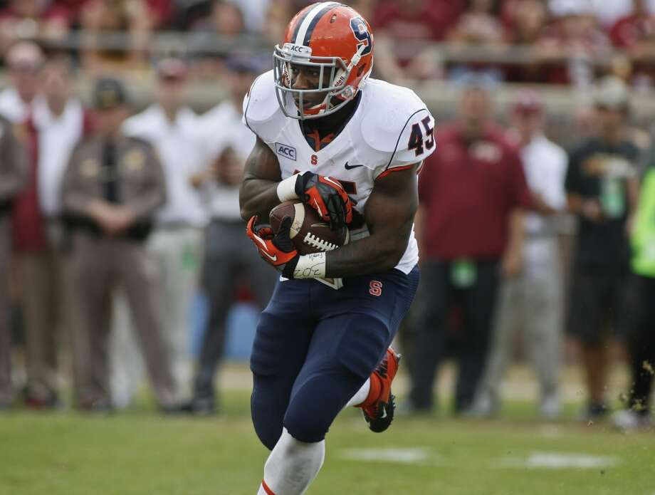 Jerome Smith  Position: Running back  School: Syracuse Photo: Phil Sears, Associated Press