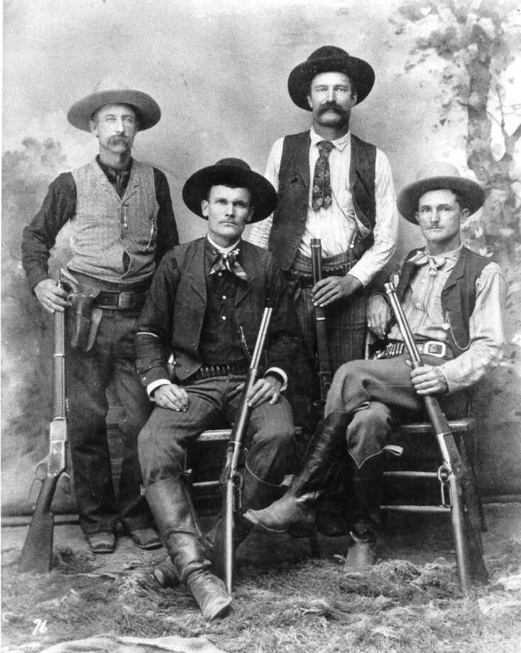 Texas Rangers started in 1823 as a small militia force protecting settlers in the then Mexican province of Tejas.