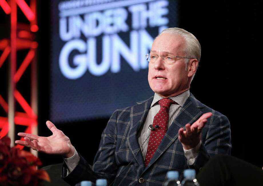 """Under the Gunn"" (8 p.m. Thursdays, Lifetime; Thursday): ""Project Runway's stylish Tim Gunn finally gets his own fashion competition gig. His new duties include helping ""Runway"" alums such as Mondo Guerra and Nick Verreos mentor ambitious designers. Photo: Frederick M. Brown, Getty Images / 2014 Getty Images"