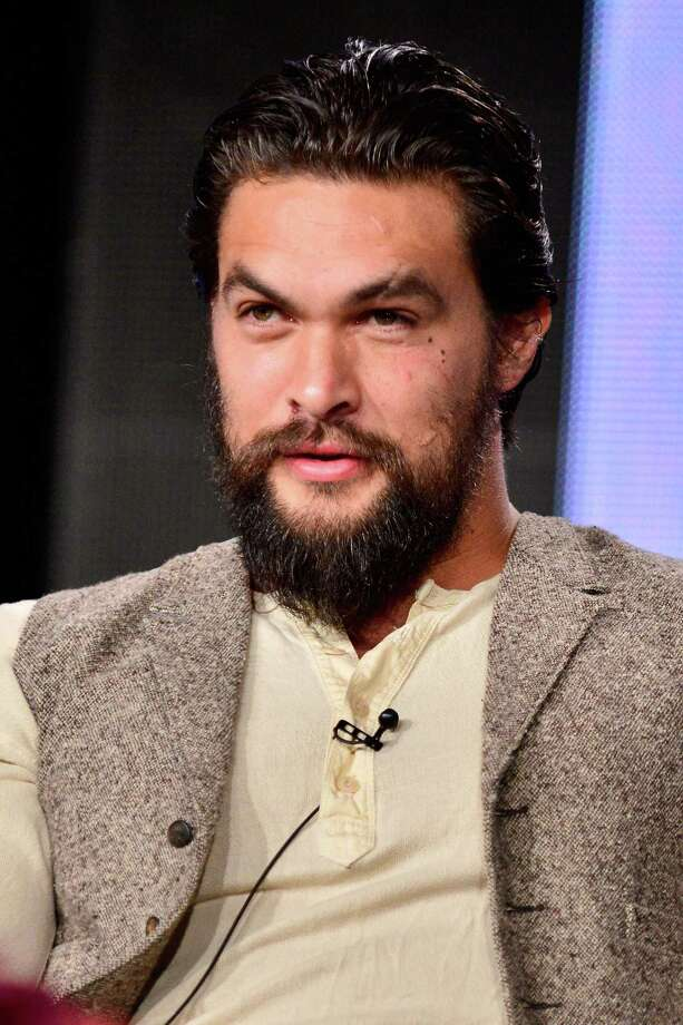 Here's Jason Momoa IRL with equally as impressive facial hair. Photo: Jerod Harris, Getty Images / 2014 Getty Images