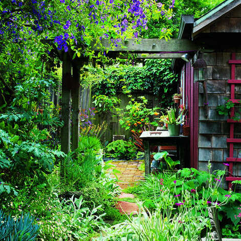 Creative ideas for backyard retreats and garden sheds sfgate for Open yard landscaping ideas
